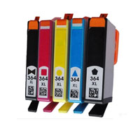 BK/C/M/Y ink cartridge compatible FOR 364