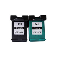 color ink cartridge compatible for 140