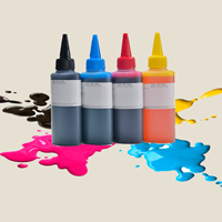 UV ink compatible for inkjet printers, curable in LED light